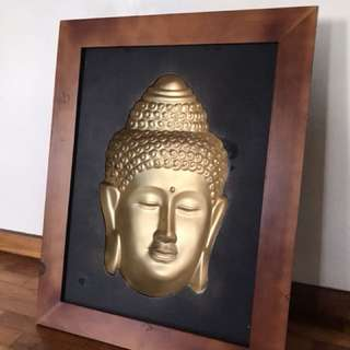 Buddha 3D with Frame