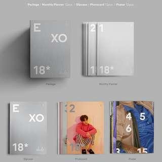 EXO 2018 SEASON GREETINGS