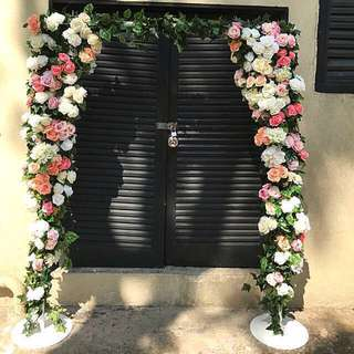 Wedding arch for rent/ square arch/ backdrop