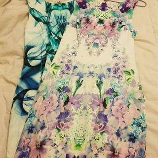 Forever New Floral Dresses - Size 6 - $40 each