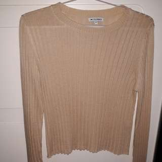 Long Sleeve Cream Colorbox