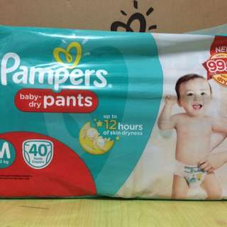 Pampers baby-dry pants diaper