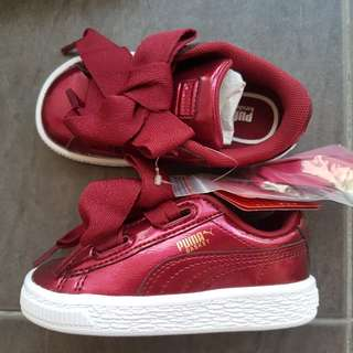 Basket Heart Glam Inf Shoes Red