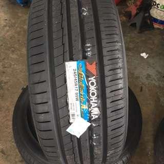 245/45/17 Ae50 Yokohama Tyre