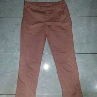 Uniqlo Pants in pink