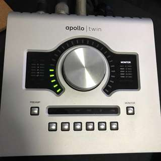 UAD Apollo Twin USB for windows system