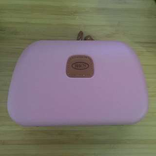 BN BRIC'S limited edition pink cosmetics pouch