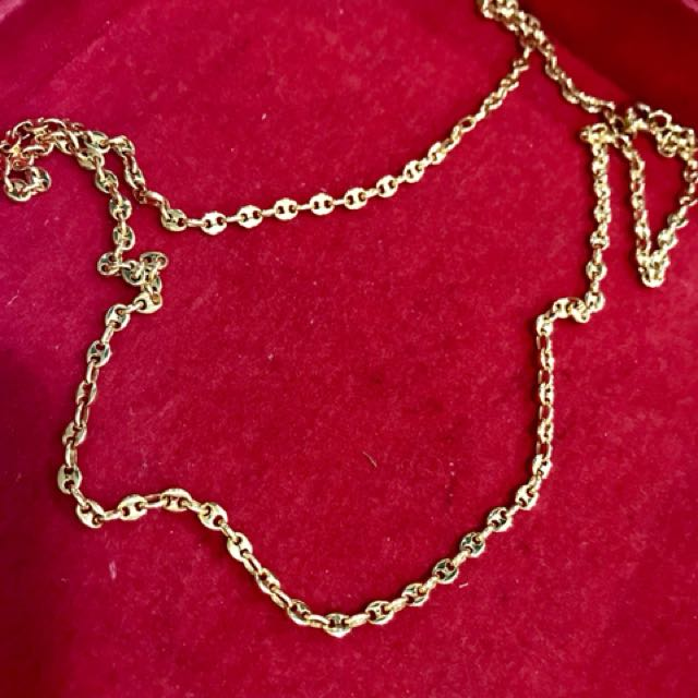 18K hermes-inspired chain Necklace