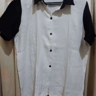 Shopatvelvet Two Tone Shirt