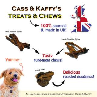 All natural dog treats / snack / chew from UK
