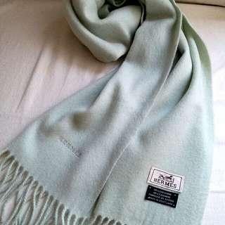 100%Cashmere Hermes Vintage Scarf 頸巾 圍巾