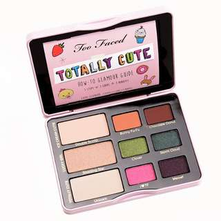 Too Faced Totally Cute eyeshadow palette #under90