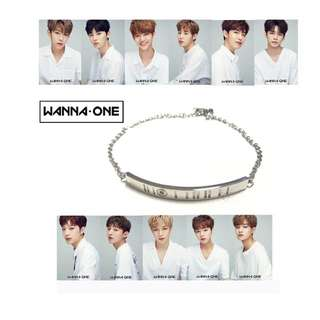 WANNA ONE UNOFFICIAL BRACELET
