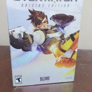 Overwatch Account Origin edition with Physical copy and game inserts