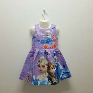 FROZEN DRESS - PURPLE