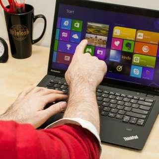 win10 i7 Touch ThinkPad X1 carbon lenovo sony macbook