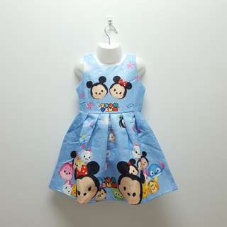 TSUM TSUM DRESS - BLUE