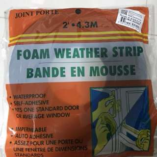 Weather Strip Tape( To Seal Doors, windows , insulation tape)