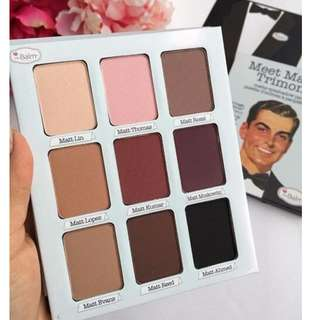TheBalm The Balm Meet Matt(e) Trimony Matte Eyeshadow Palette Makeup BRAND NEW & AUTHENTIC (NO OFFERS) RRP $64