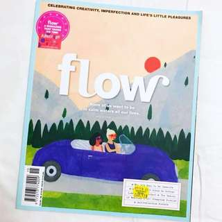 flow. A Magazine That Takes It's Time. Issue 15.