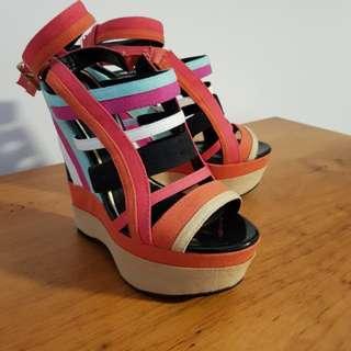 Zu wedges heels 8