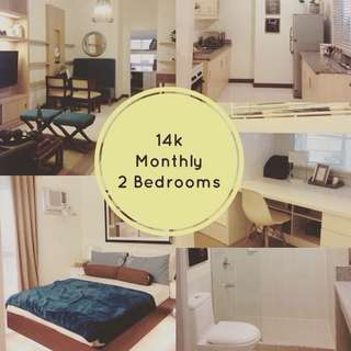 Preselling 2Bedroom for Sale near BGC Taguig