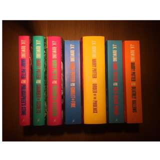 Harry Potter Full Series Books 1-7  (price reduced)