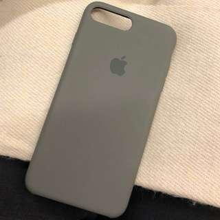 Apple原廠矽膠case for iPhone 7plus or 8plus