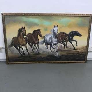 Lukisan kuda paintings
