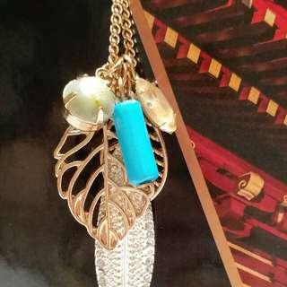 時尚水晶吊珠頸鍊