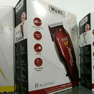Wahl BALDING 5 Star barbershop hair clipper Made in USA