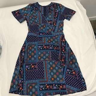 Attik boho tea dress