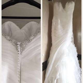 Wedding gown (Ivoire by Kitty Chen) 99% new!!!!!