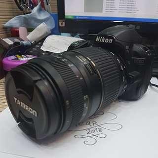 Nikon D3100 with Tamron 70-300mm