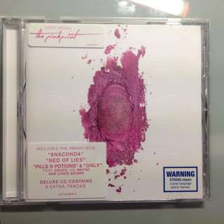 Nicki Minaj The Pinkprint CD