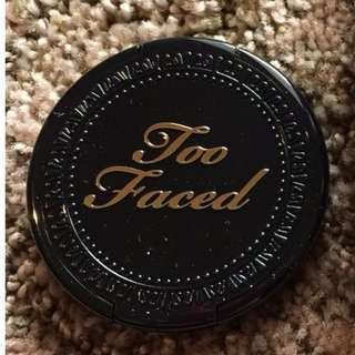 Too Faced Chocolate Soleil TRAVEL 2.5g SIZE MEDIUM/DEEP w/ BRUSH BRAND NEW & AUTHENTIC (NO OFFERS)