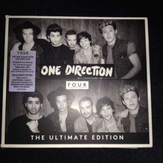 One Direction CD (four, Ultimate Edition)