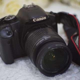 Canon EOS 450D DSLR with kit lens