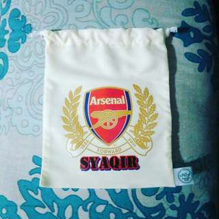 Customise drawstring pouch