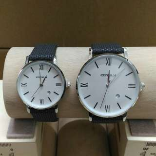 Modern Camerly Couple Watches