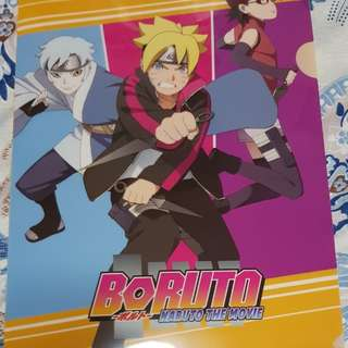 Boruto: Naruto The Movie L-shape folder
