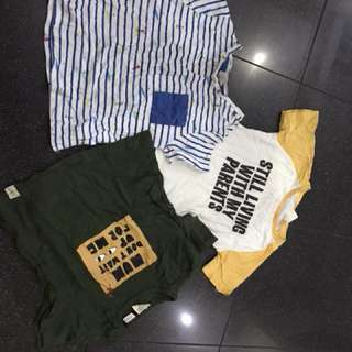 Zara Baby Boy shirts. 3 for 499. 18-24mos