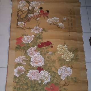 Vintage Chinese Ink painting.