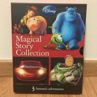 Disney Cars 2, Toy Story 2 & Monsters Inc