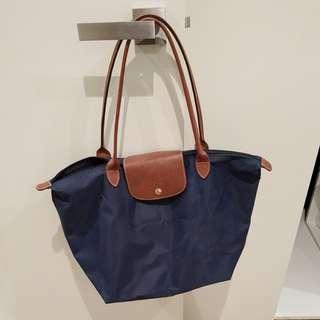 Genuine Longchamp bag in navy