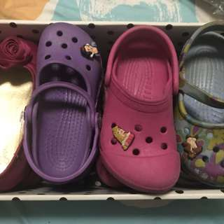Crocs and BabyGap shoes size8-9