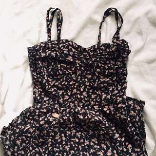 CANDIE'S FLORAL DRESS