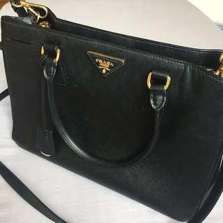 Prada Saffiano Lux Leather Tote