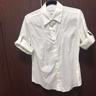 Bossini Collared Shirt with Foldable Sleeves