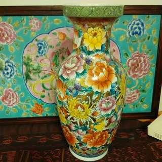 Gold Base Flower Vase